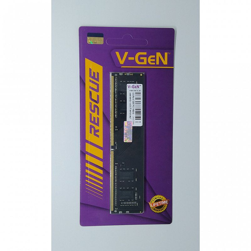 V-GeN RESCUE RAM Module for (PC) DDR4 3200Mhz 4GB 8GB 16GB